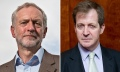 Jeremy Corbyn and Alistair Campbell